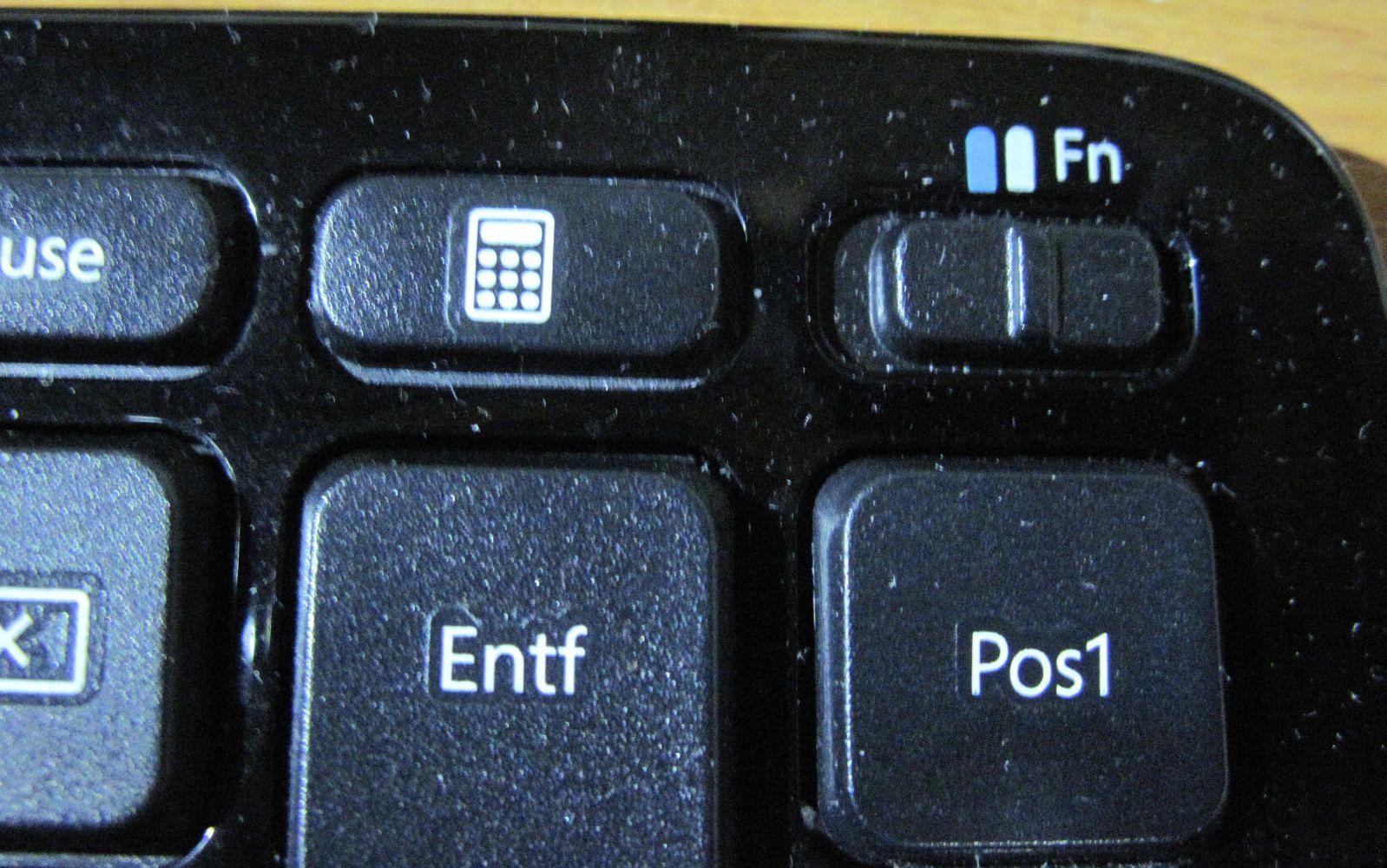 zahlen tastatur funktionieren nicht